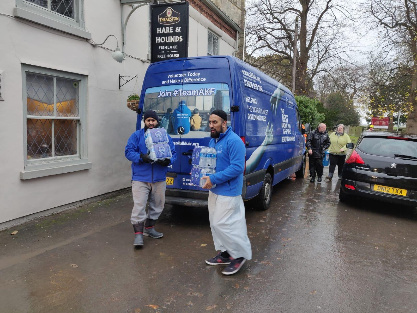 Muslim charity comes to aid of flood victims in deluged Doncaster village - Doncaster Free Press