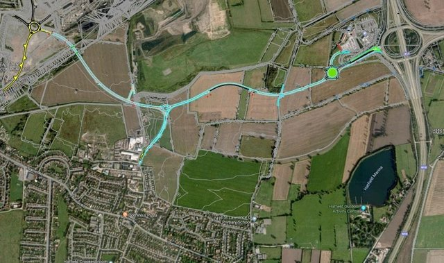 DN7 Unity: First stage of 'new town' in Doncaster finally
