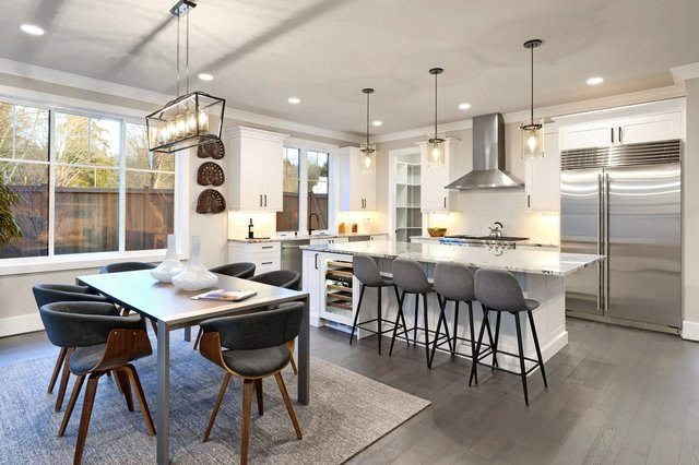 <p>Buy a dining table that's as large as the space you can have available can accommodate</p>