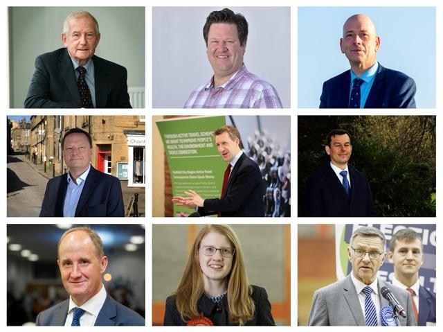Yorkshire MPs (from top left) Barry Sheerman, Alec Shelbrooke, Mark Eastwood, Jason McCartney, Dan Jarvis, Nick Fletcher, Kevin Hollinrake, Holly Lynch, and Craig Whittaker. Photos: JPI Media