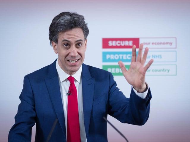 Shadow Business Secretary Ed Miliband. Photo: PA
