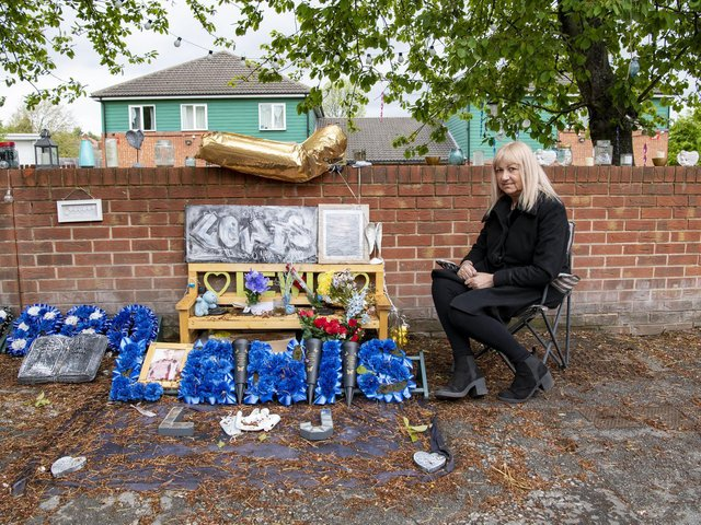 Doncaster Council is trying to take down floral tributes left at the scene of where a young lad, Lewis Williams, was killed in a drive by shooting in January.