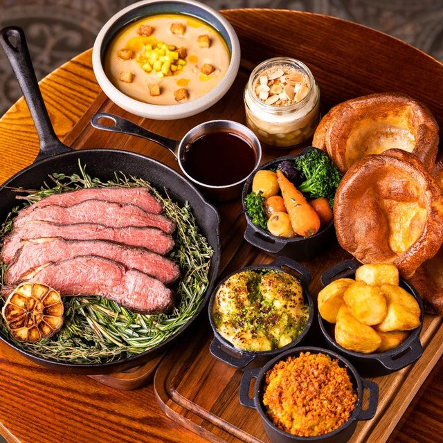 The delicious beef roast restaurant kit. Image: HOME-X