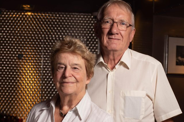 Anne and Keith Evans - founders of YGAM.