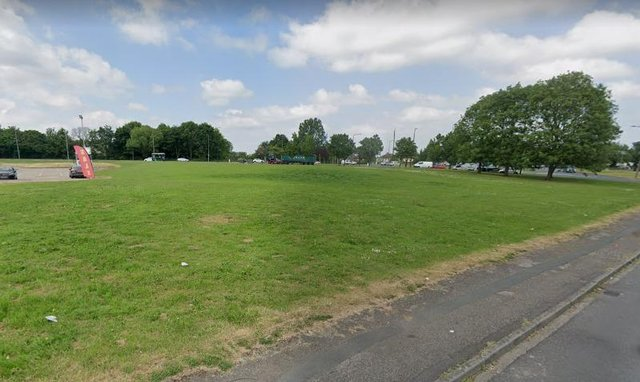 The proposed site of a new 24 hour petrol station, across from Sandal Park
