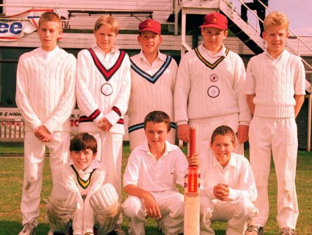 The Doncaster Town under 11's A team in 1996.
