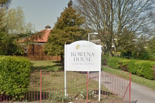 Rowena House in Conisbrough