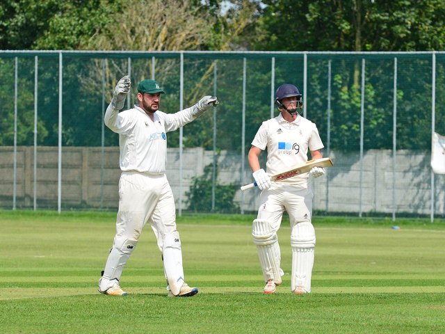 Doncaster Town CC v Treeton. Doncaster's James Ward, pictured. Picture: Marie Caley NDFP-03-08-19-DoncTownvTreeton-5