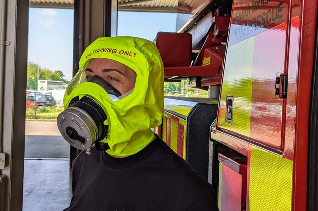 South Yorkshire Fire Services have bought more than 100 new smoke hoods.
