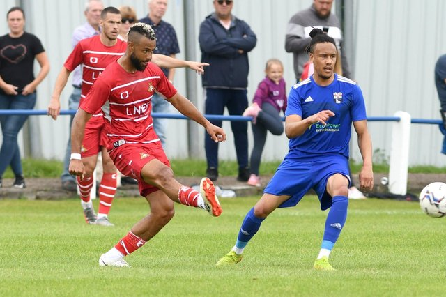 John Bostock played in the deeper lying midfield role against Rossington
