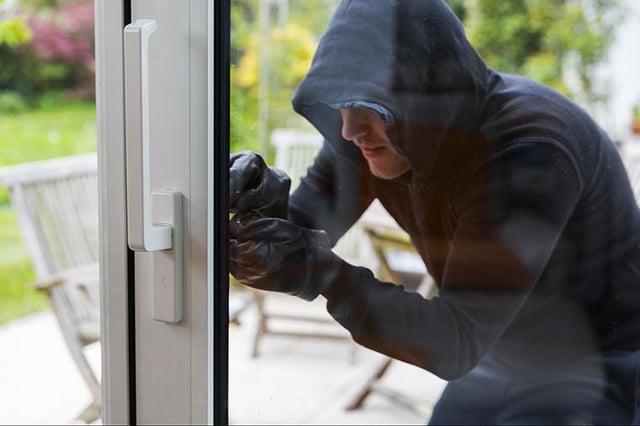 Burglars struck in Bessacarr