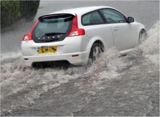Flash flooding has hit Doncaster.