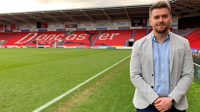 Doncaster Rovers' talent identification manager Adam Henshall