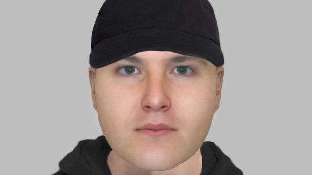 Police want to speak to the man in this efit over an attempted robbery