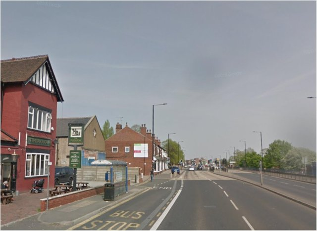 The incident is understood to have taken place on Balby Road near The Plough pub.