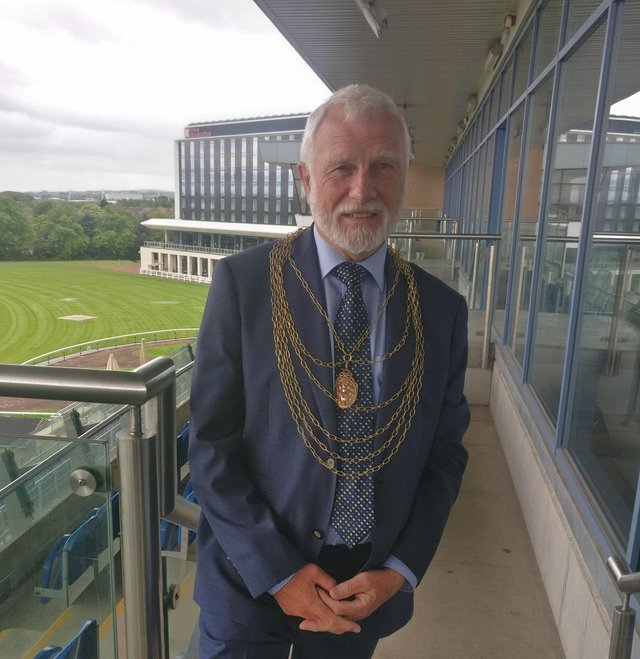 New Doncaster civic mayor Richard Allan Jones
