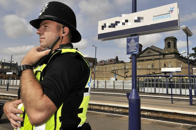 File picture: British Transport Police. pic Richard Ponter 184020a
