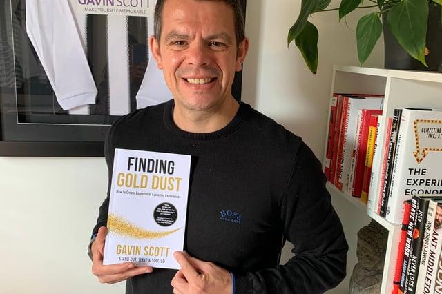 Gavin Scott - author of Finding Gold Dust.