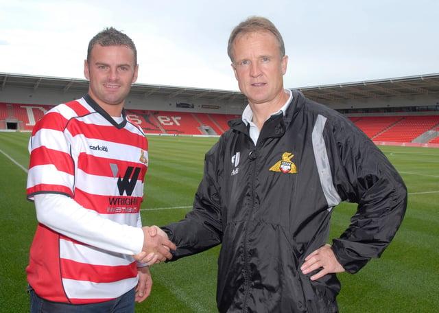 Sean O'Driscoll and Richie Wellens