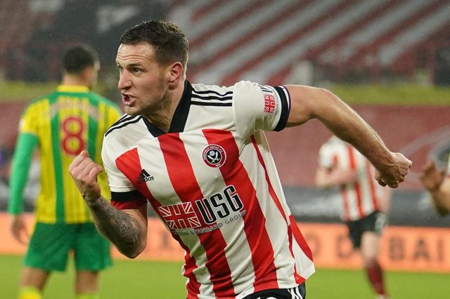 Former Rovers striker Billy Sharp is set to return to the Keepmoat with Sheffield United. Photo by DAVE THOMPSON/POOL/AFP via Getty Images