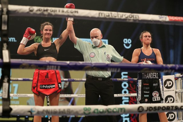 That's made my year' - Terri Harper retains world titles with stoppage win  over Katharina Thanderz | Doncaster Free Press