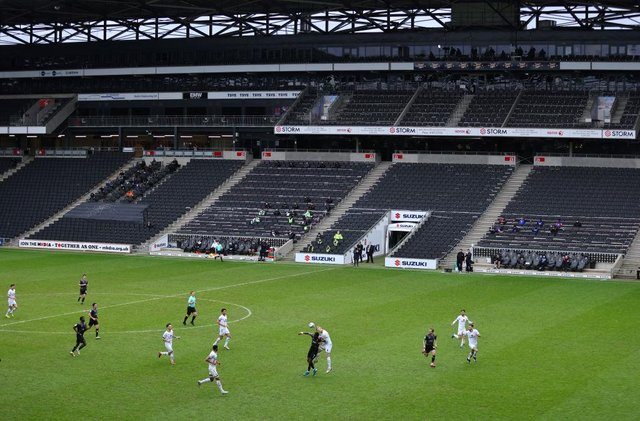 Doncaster Rovers failed to score at MK Dons for the fourth time in their last five games. Photo: Richard Heathcote/Getty Images