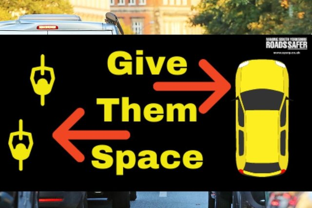 Give Them Space campaign