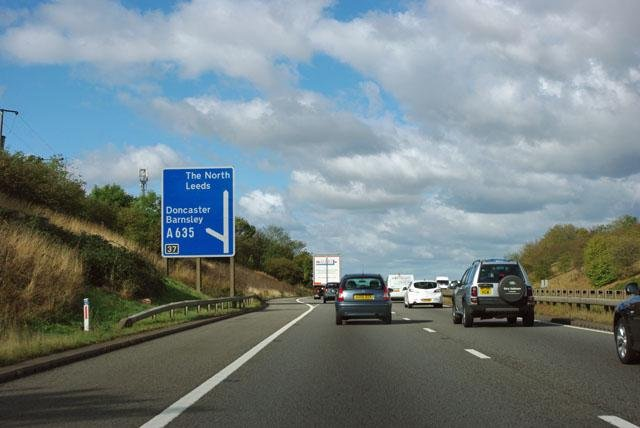 Junction 37 of the A1(M)