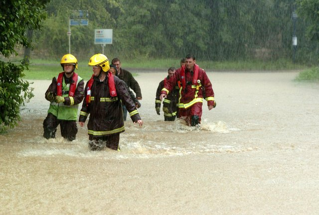 Remembering the floods in Doncaster in the 00s