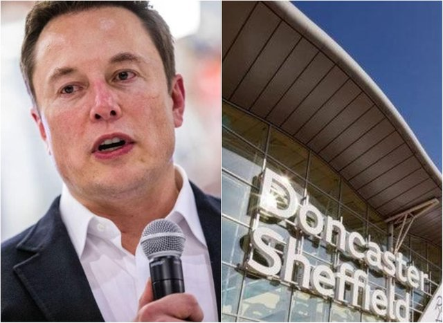 Elon Musk is understood to have made a flying visit to Doncaster last week .(Photo: Getty)