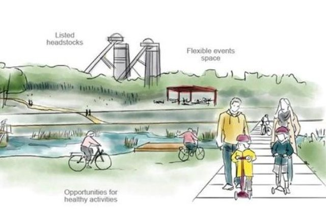 Plans for some of the projects which will arise from Stainforth's Towns Fund allocation