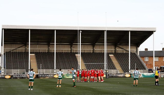 Doncaster Knights, pictured in pre-season action at Ealing Trailfinders. Photo: Alex Davidson/Getty Images