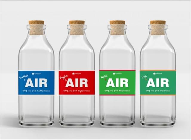 Fancy a bottle of fresh air for £25?