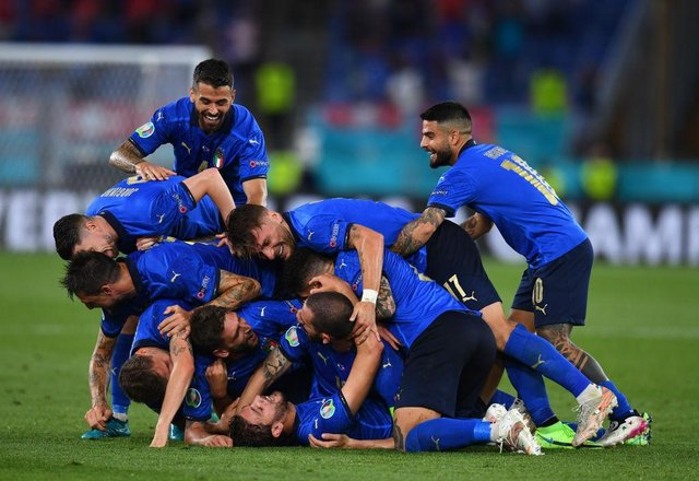 Italy won three out of three in the group stage. Photo by Claudio Villa/Getty Images