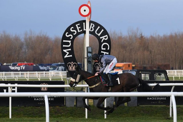 Action from Musselburgh. Photo: Jeff J Mitchell/Getty Images