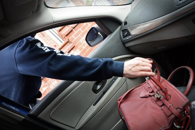With warm weather comes an increase in Summer related crimes. According to Police, thefts from homes and cars rise as people leave windows and doors unlocked. (Picture posed by model).