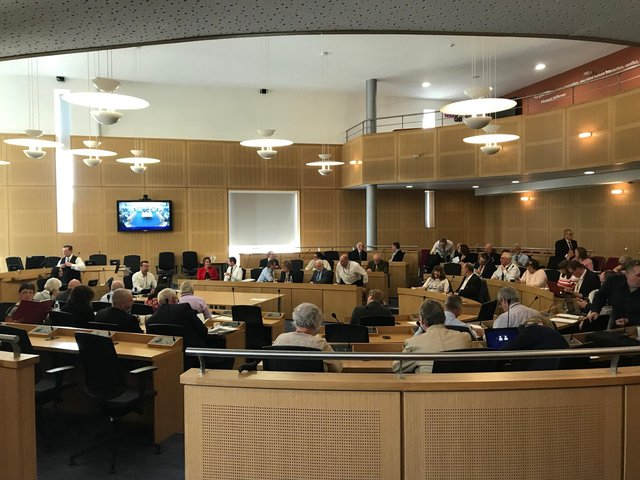 Doncaster Council chamber