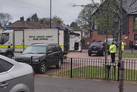 The bomb unit in Bentley