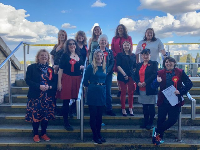 Winning female Labour candidates from the 2021 Doncaster Council elections