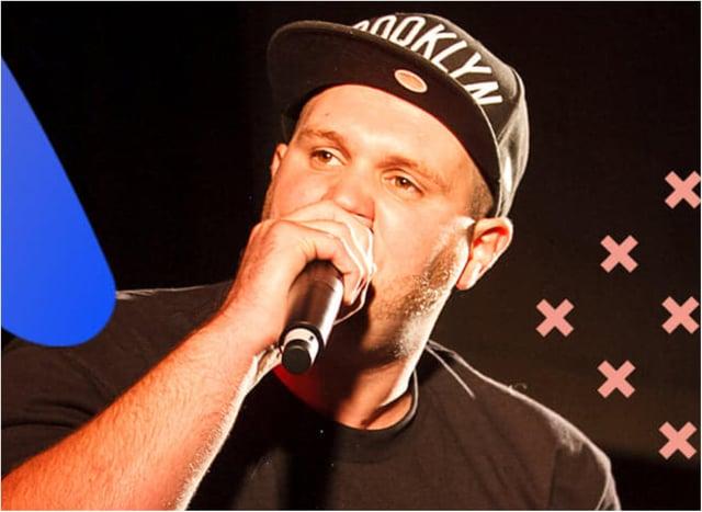 Doncaster rapper Jay Betts.