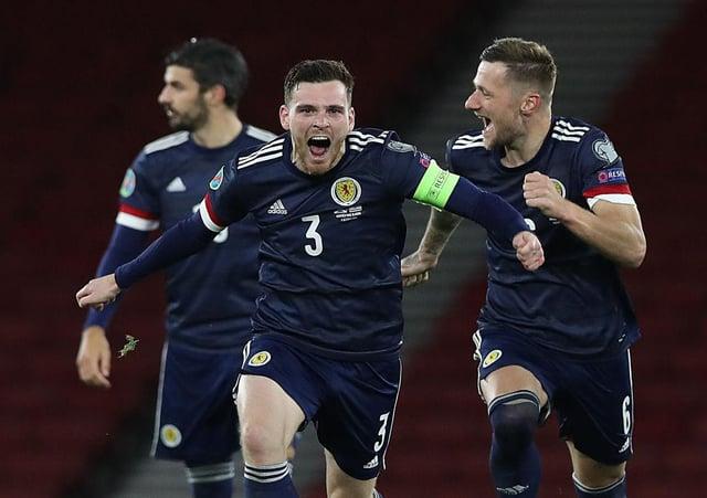 Scotland star Andy Robertson. Photo: Ian MacNicol/Getty Images