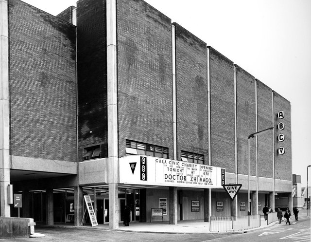 The old ABC Cinema on Cleveland Street has been abandoned for many years.