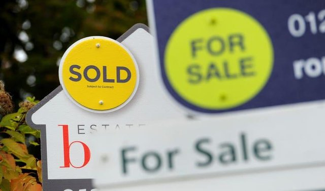 There's been a slight increase in house prices