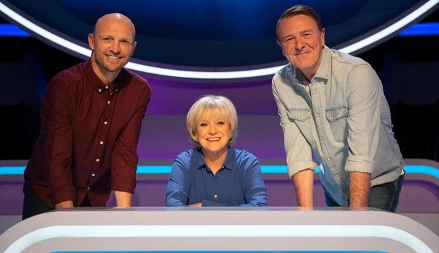 Matt Dawson, Sue Barker and Phil Tufnell