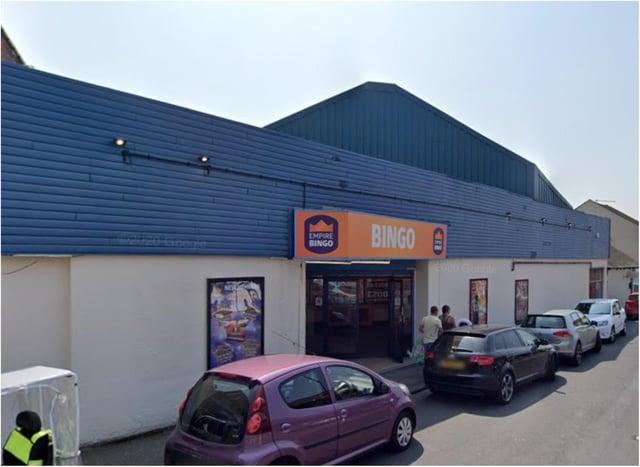 Police raided the former bingo hall in Mexborough.