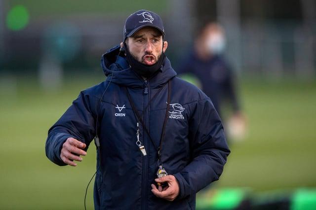 Knights head coach Steve Boden
