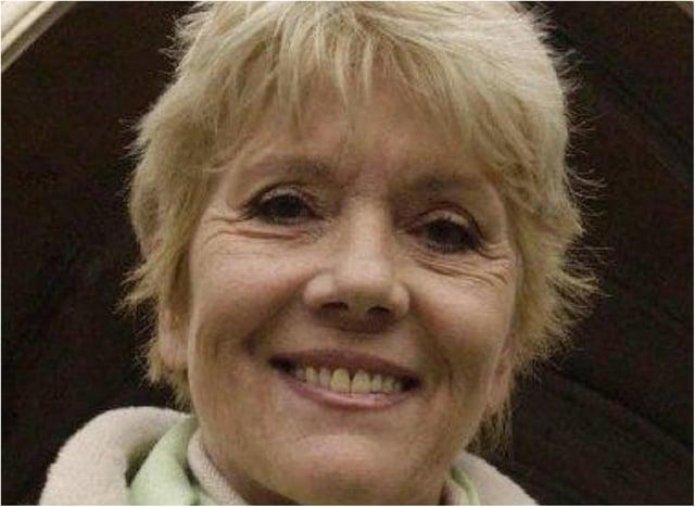 Doncaster born actress Dame Diana Rigg.