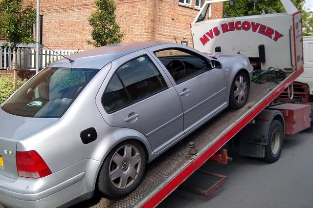 The car was recovered on July 6.