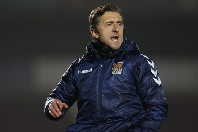 Northampton Town caretaker manager Jon Brady. Photo: Pete Norton/Getty Images