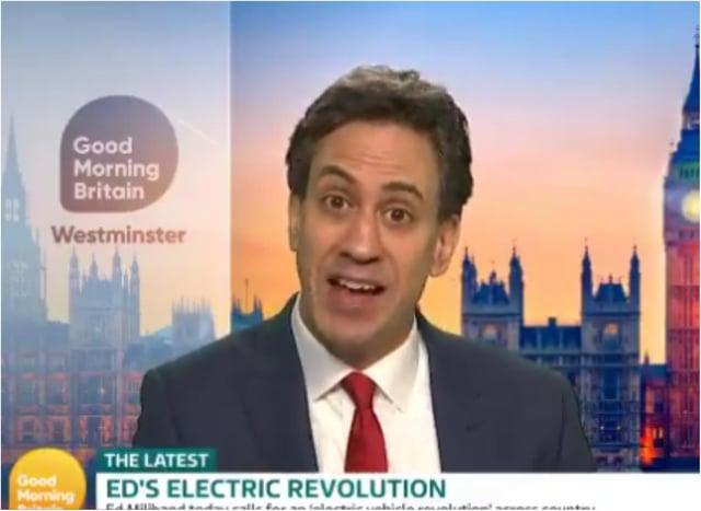 Ed Miliband was savaged on Good Morning Britain by Susannah Reid. (Photo: GMB).